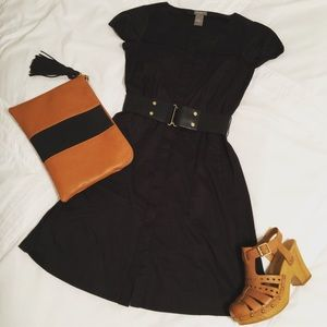 Ann Taylor Belted Dress
